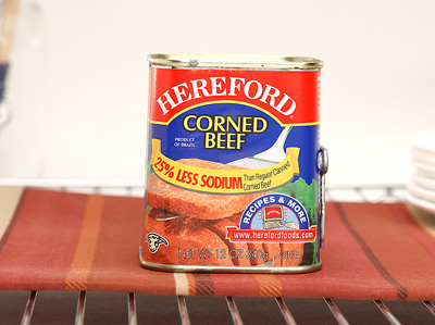 HEREFORD Corned Beef Less Sodium
