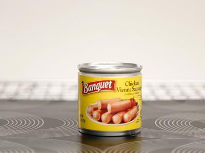BANQUET Chicken Vienna Sausage