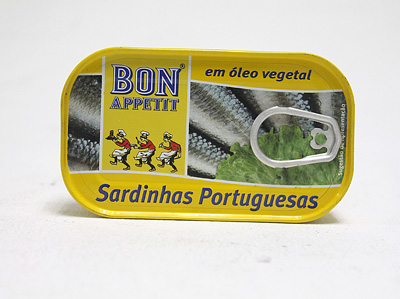 BON APPETIT Sardines in Vegetable Oil