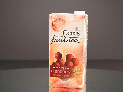 CERES Fruit Tea - Cranberry & Green Tea