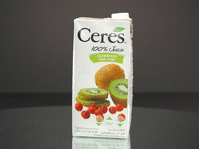 CERES Fruit Juice  - CRANBERRY & KIWI