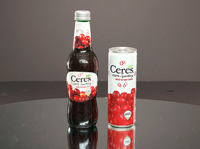 CERES Sparkling 100% Fruit Juice - RED GRAPE