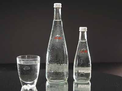 EVIAN Nat. Mineral Water - Aramis (glass)