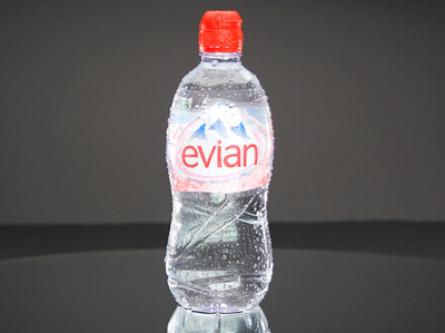 EVIAN Natural Mineral Water - REBIRTH