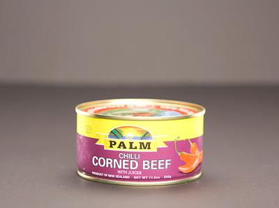 PALM Corned Beef w/ Nat. Juice - CHILLI