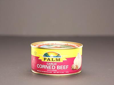 PALM Corned Beef w/ Nat. Juice - GARLIC