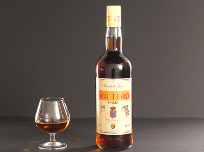 SOLTERO Brandy de Jerez 36% vol.
