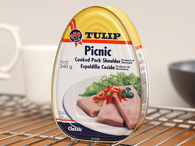 TULIP Picnic Cooked Pork Shoulder Ham