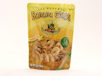 Banana Chips - All Natural (3.5oz)