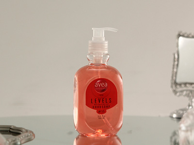 AVEA Nat. Levels Anti-Bac Hand Soap Rose (Pink)