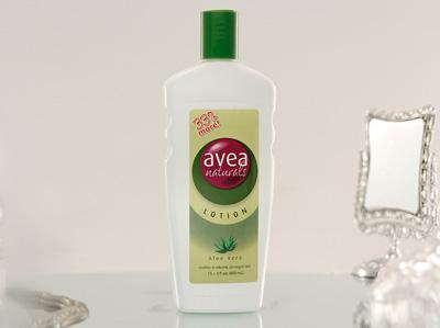 AVEA LOTION (33% more) - Aloe Vera (600ml)