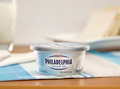 PHILADELPHIA - 1/3 less fat