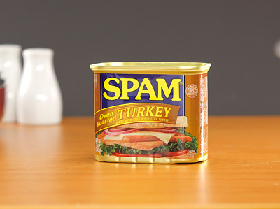 SPAM Luncheon Meat - Oven Roasted - Turkey 340g
