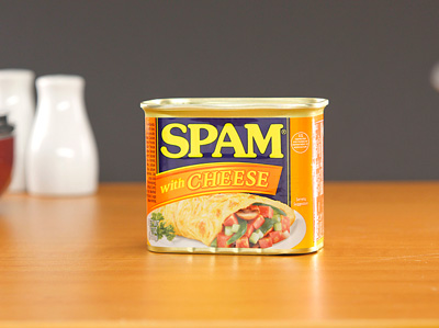 SPAM Luncheon Meat with Cheese 340g