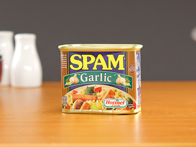 SPAM Luncheon Meat with Garlic 340g