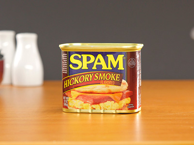 SPAM Luncheon Meat hickory smoke flavored 340g