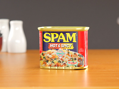 SPAM Luncheon Meat - Hot & Spicy 340g