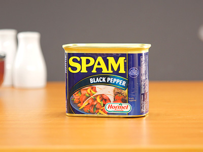 SPAM Luncheon Meat - Black Pepper 340g