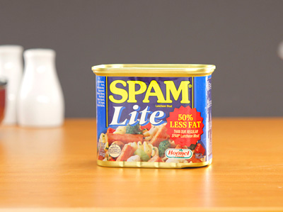 SPAM Luncheon Meat - LITE (50% less fat) 340g