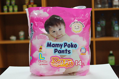 MAMYPOKO PANTS (GIRL) Extra Soft - L14