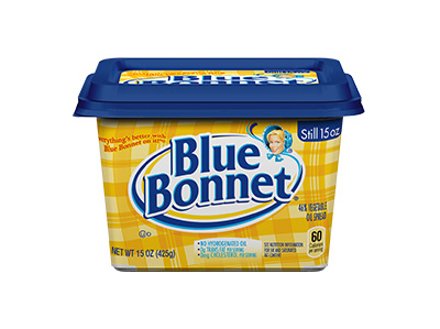 BLUE BONNET Margarine Bowl